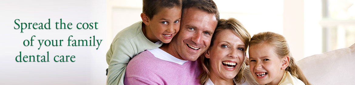 Spread the cost of your family dental care
