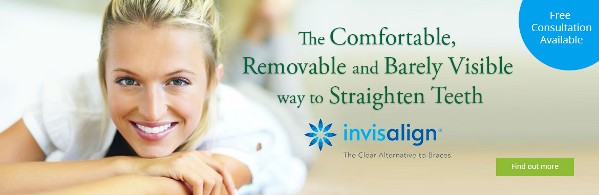 Invisalign Clear Braces for straighter teeth