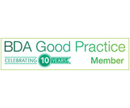 BDA Good Practice 10 year member Logo